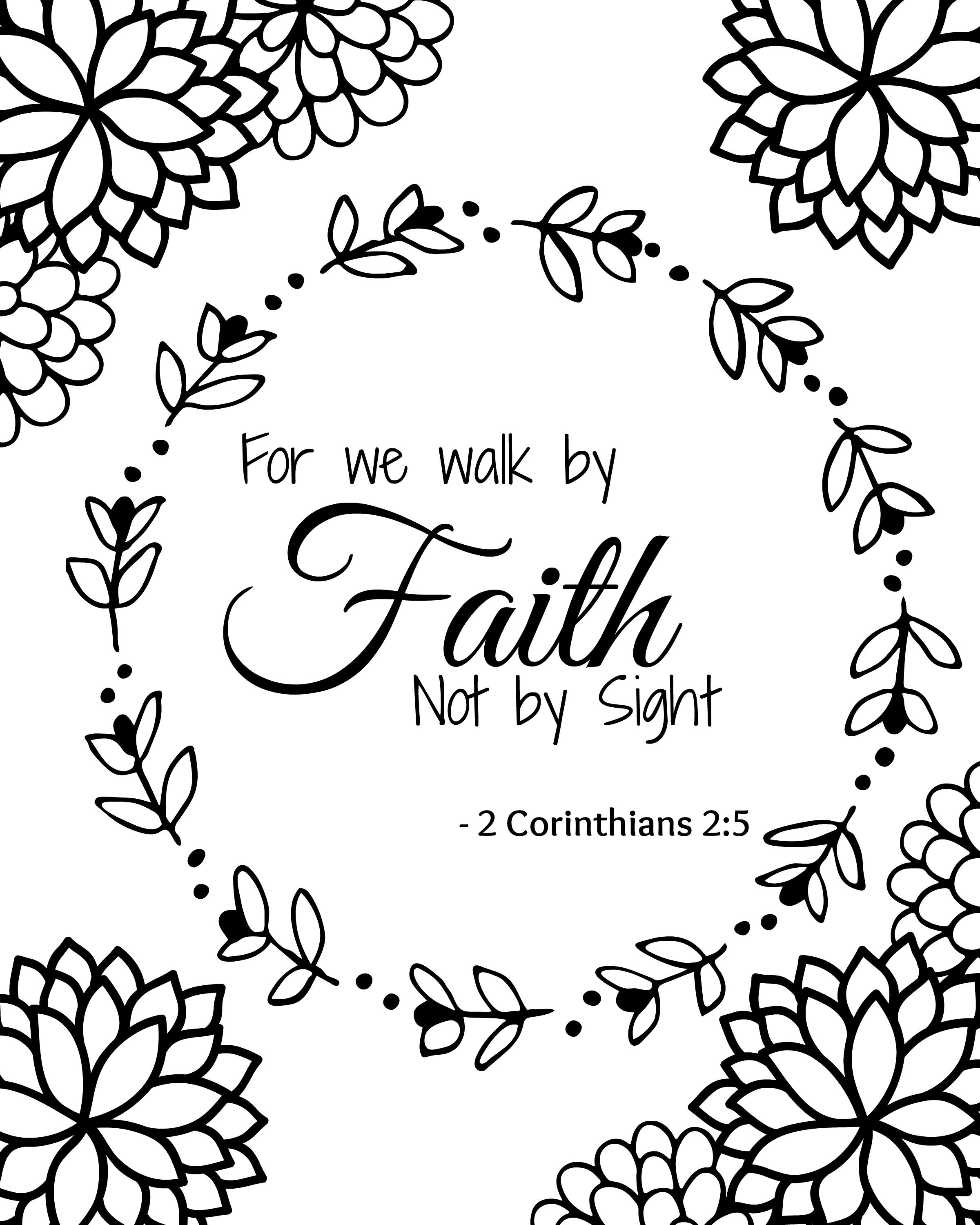 This is a picture of Striking Free Printable Bible Coloring Pages With Scriptures
