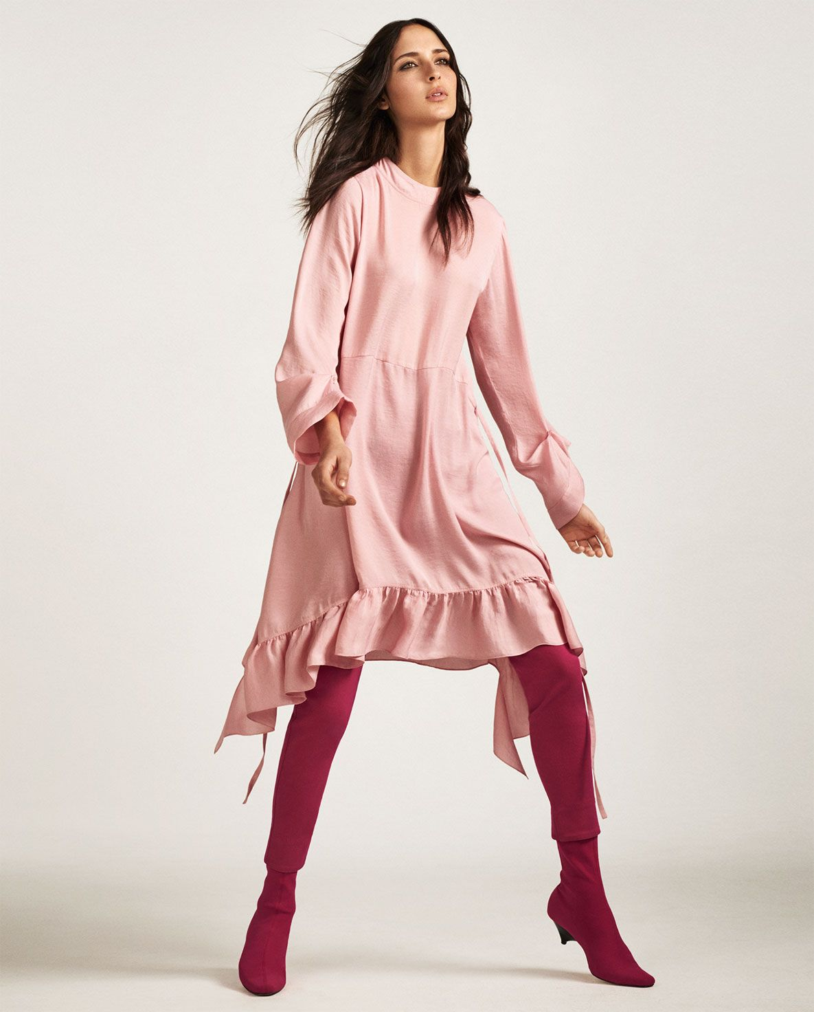 PINK-WOMAN-EDITORIALS | ZARA Malaysia | Style Inspirations | Pinterest