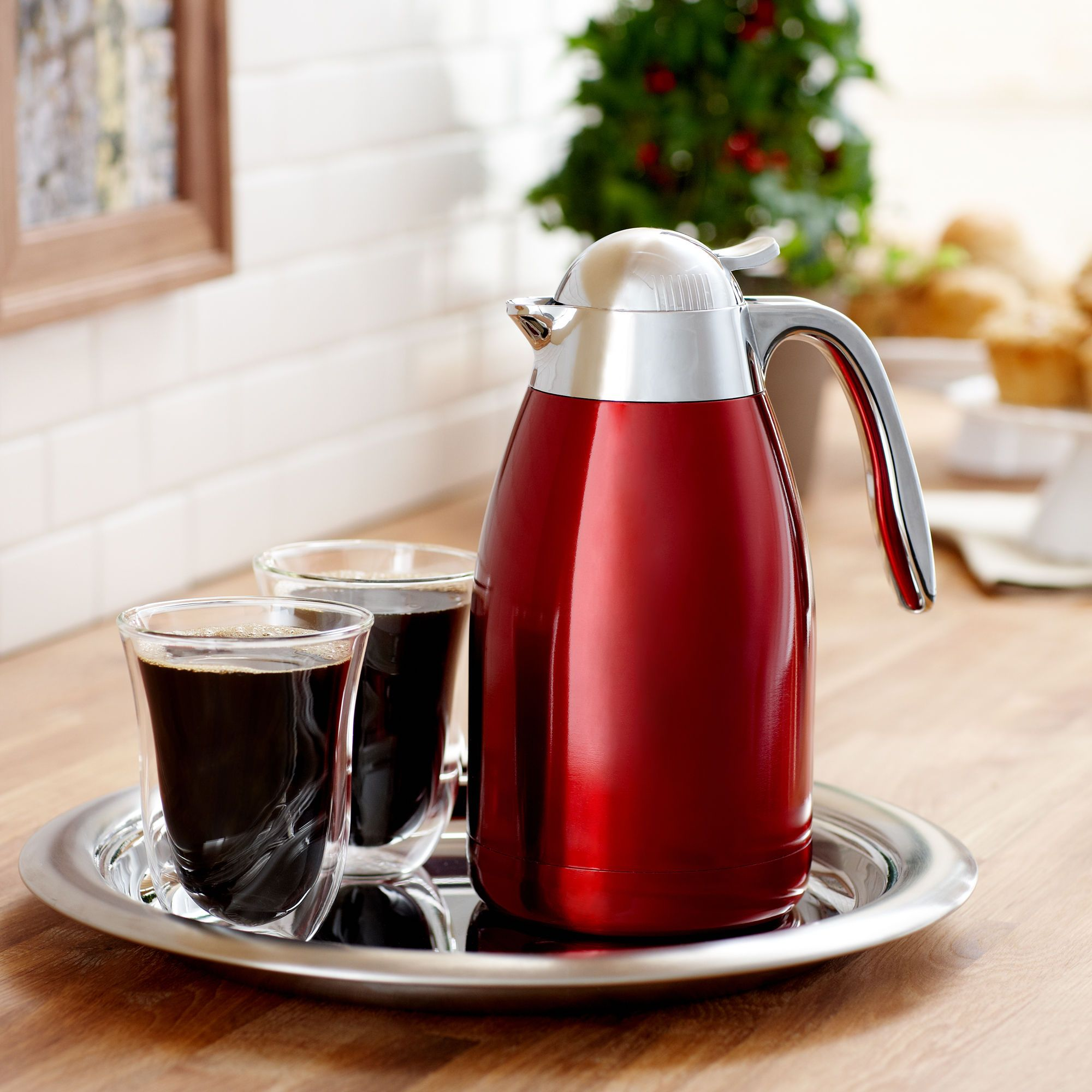 Starbucks® Stainless Steel Red Carafe Starbucks store