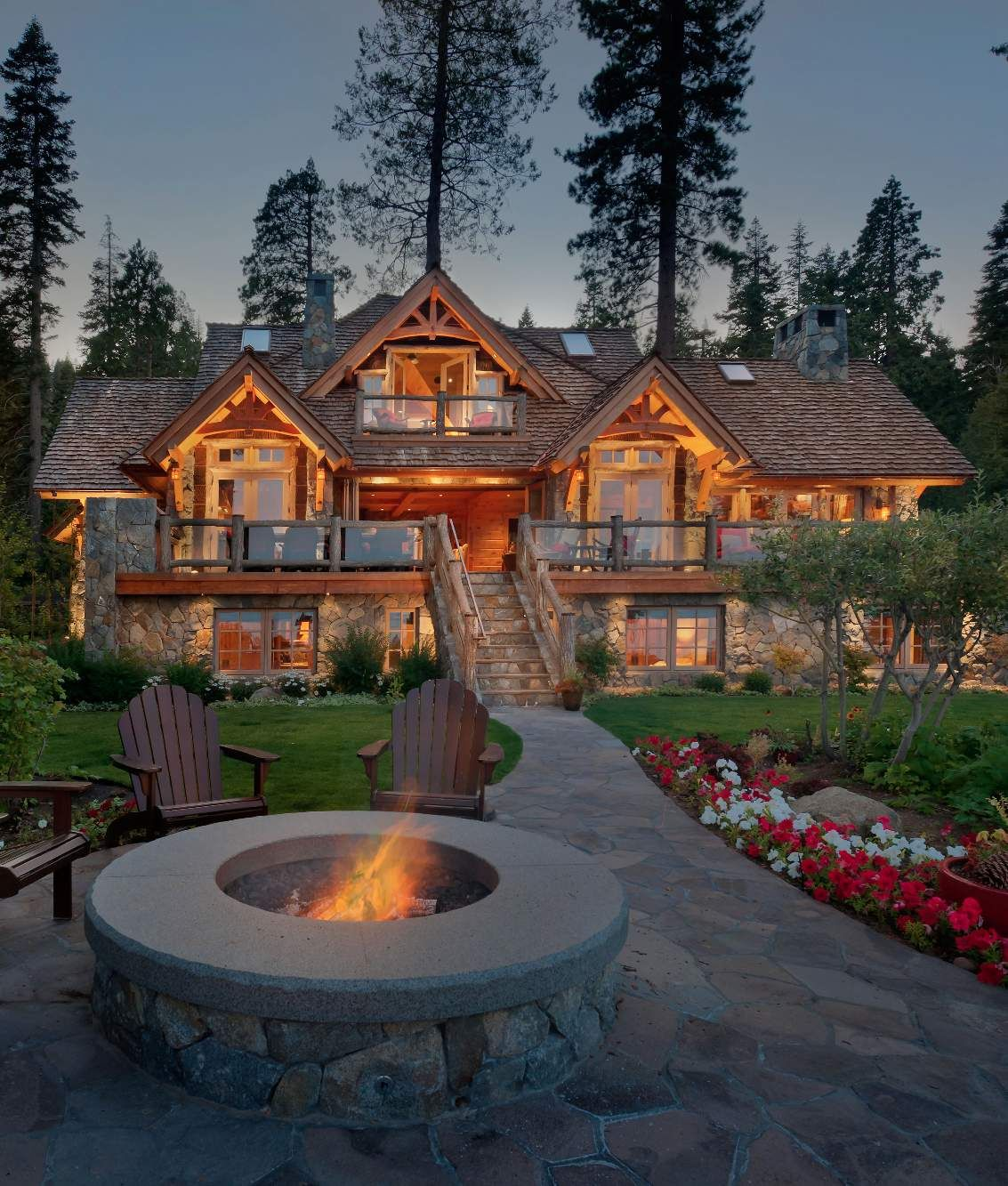 Luxury Mountain Homes: Old Tahoe House By OOA Design - Style Estate -