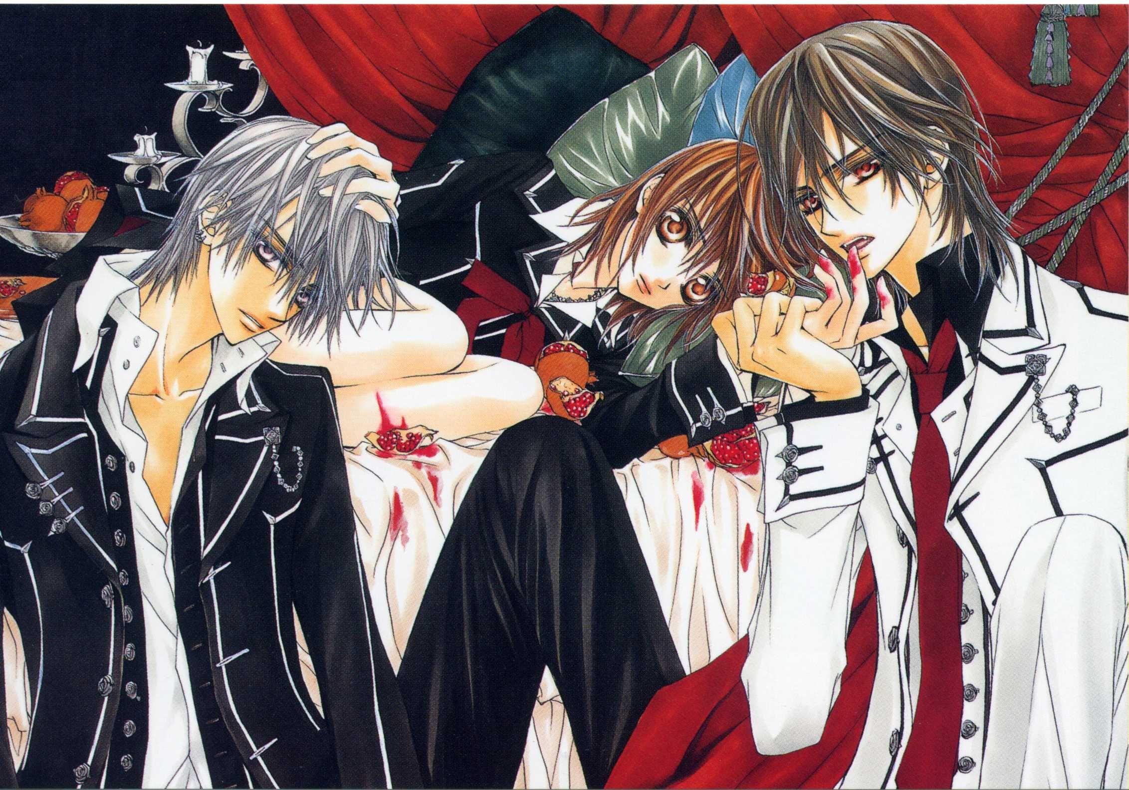 Vampire Knight Zero, Yuki, Kaname Vampire knight funny