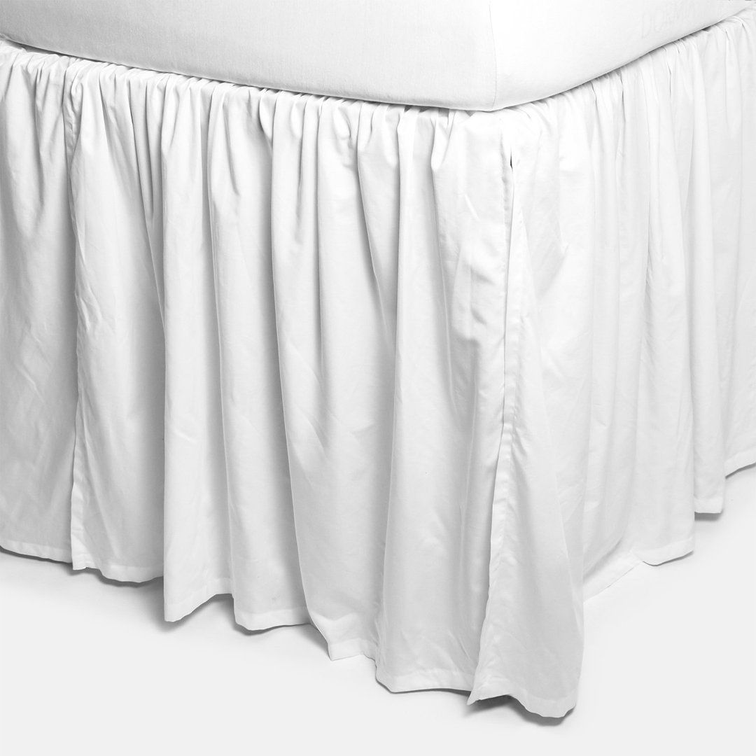 Extra Long Bedskirt White Long Bedskirt Dorm Bed Skirts Extra Long Bed