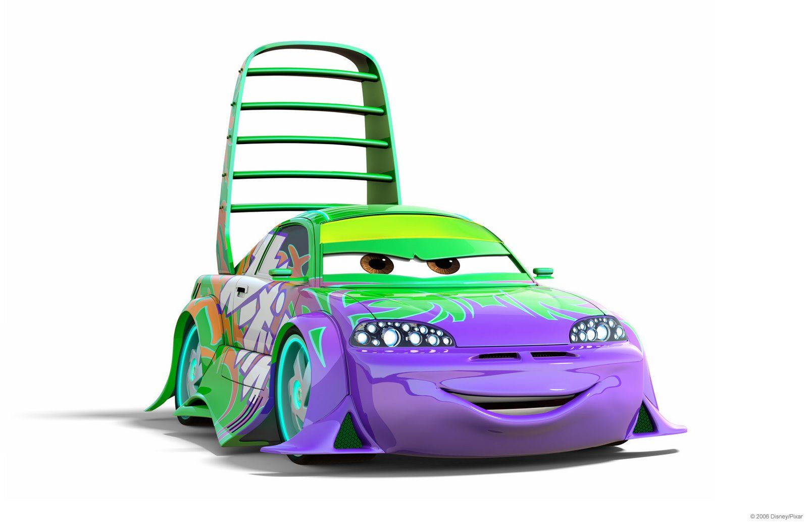 Wingo is a minor antagonist in the 2006 animated film cars