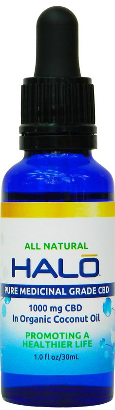 HALO 1000mg Water Soluble Nano-CBD Multi-Spectrum Terpene
