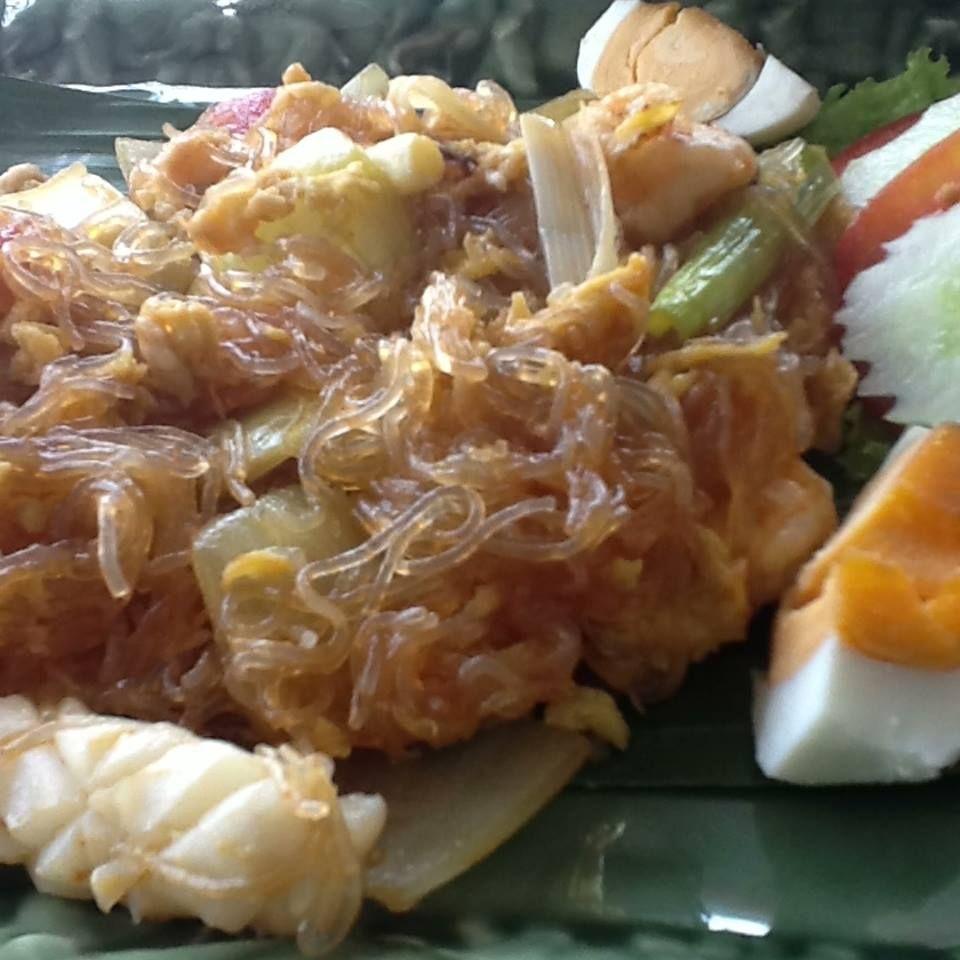 Woonsen Pad Khai Kem Soun Telor Asin Glass Noodles On Salty Egg Indomie Salted Goreng Telur