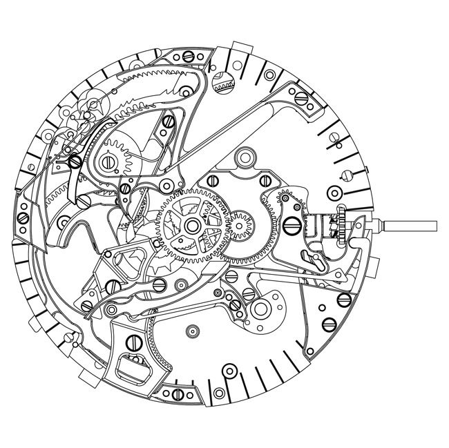 swiss watch diagram