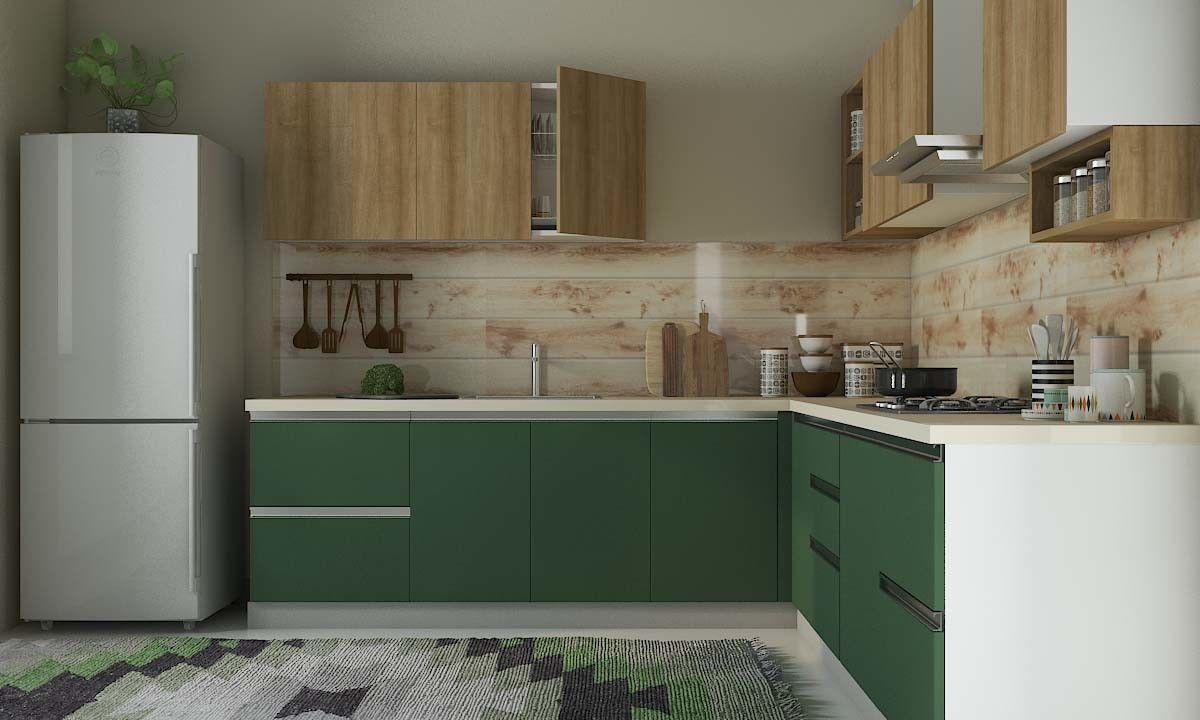 Black Kite L Shaped Kitchen   Kitchen design small, L shaped ...