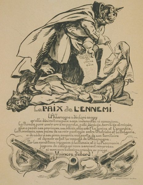 File:French caricature on the Romanian-German Peace Treaty.jpg