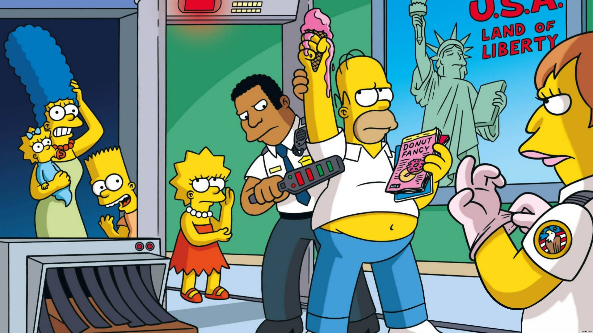 The Simpsons Wallpaper from The Simpsons. Marge simpson