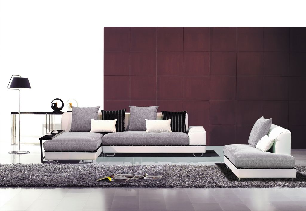 Fabric Sectionals Modern Living Room Contemporary Fabric