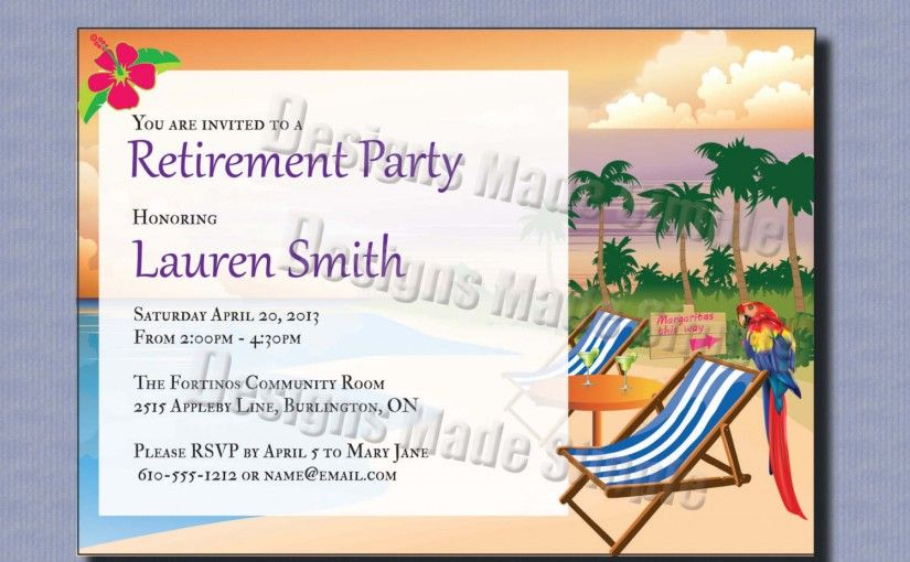 Free Party Invitation Templates For Word  Invitation Sample