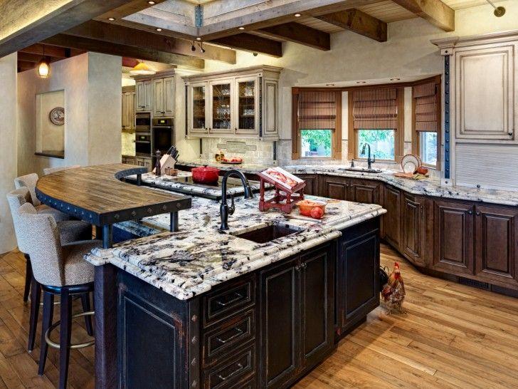 Large Kitchen Island Breakfast Bar Google Search
