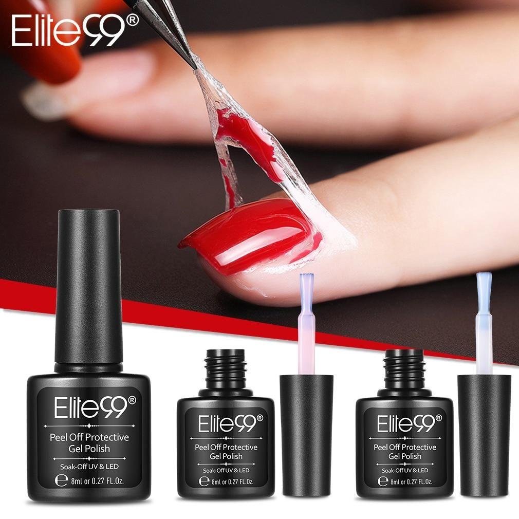 Elite99 Peel Off Protective Nail Polish Manicure Protected