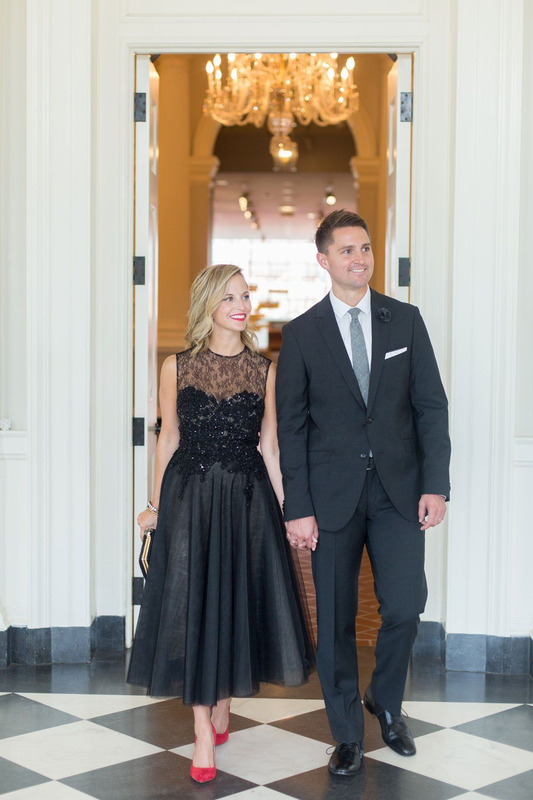 What To Wear To A Black Tie Optional Wedding Masquerade