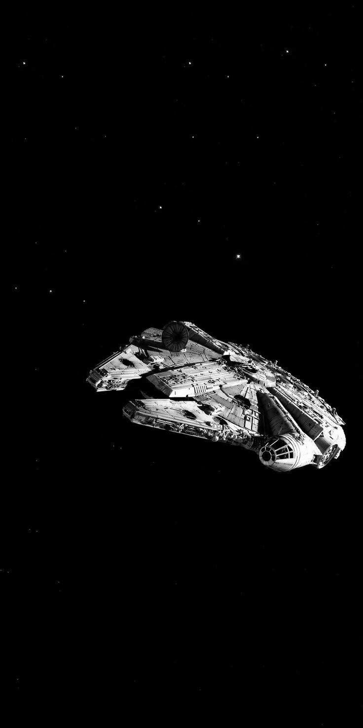 I Believe This Is Proximity Because The Millennium Falcon Is A Space Ship And It Belongs In In 2020 Star Wars Background Star Wars Wallpaper Star Wars Wallpaper Iphone