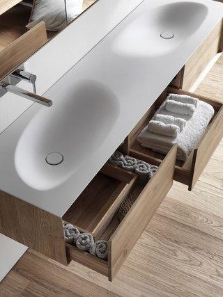 Wastafel #shape #EVO in de #badkamer van de #penthouse #project ...