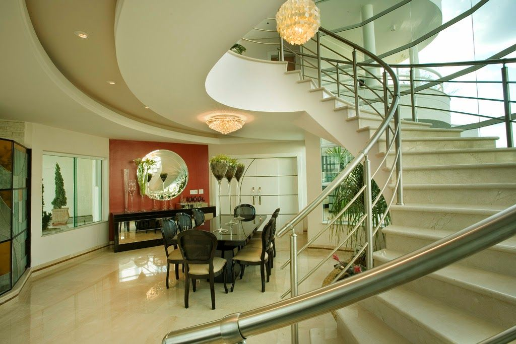 Escadas diferentes e modernas - veja modelos lindos e sofisticados! - Decor Salteado - Blog de Decoração e Arquitetura