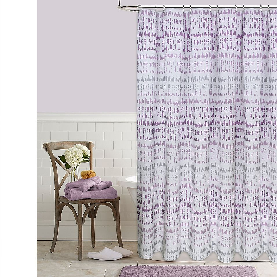 Raindance 72 X 84 Shower Curtain In Purple Curtains Elegant