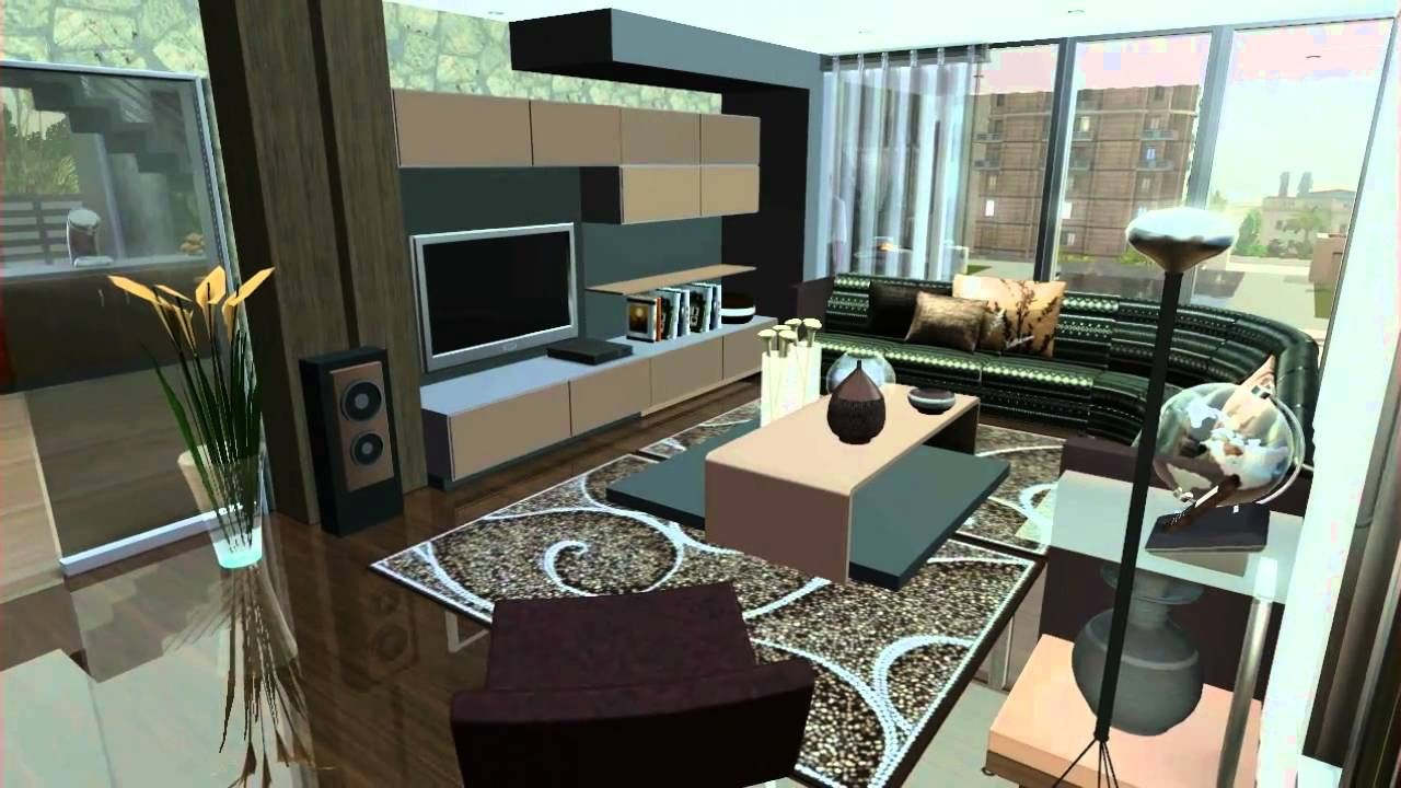 SIMS 3 House design VR.3 .HILLWOOD | Home interior design ...