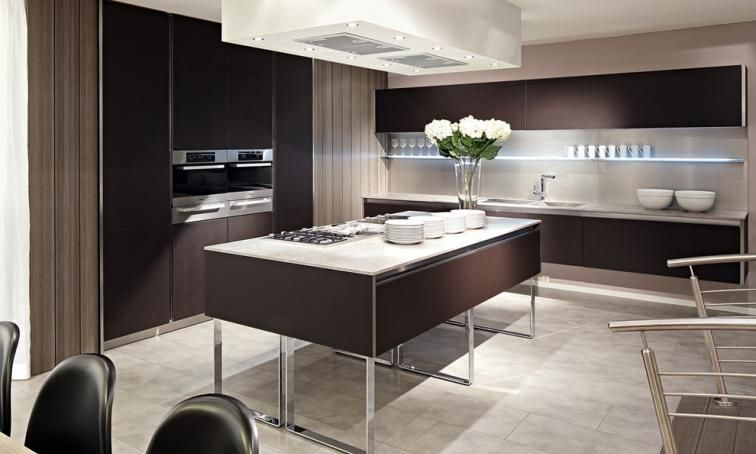 Beeck German luxury kitchen from Lime Black - Laval ES ...