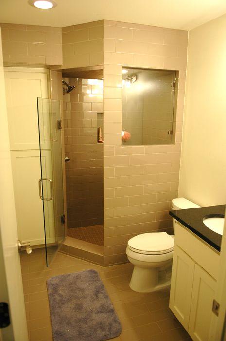 Shower Enclosure Off Converted Garage