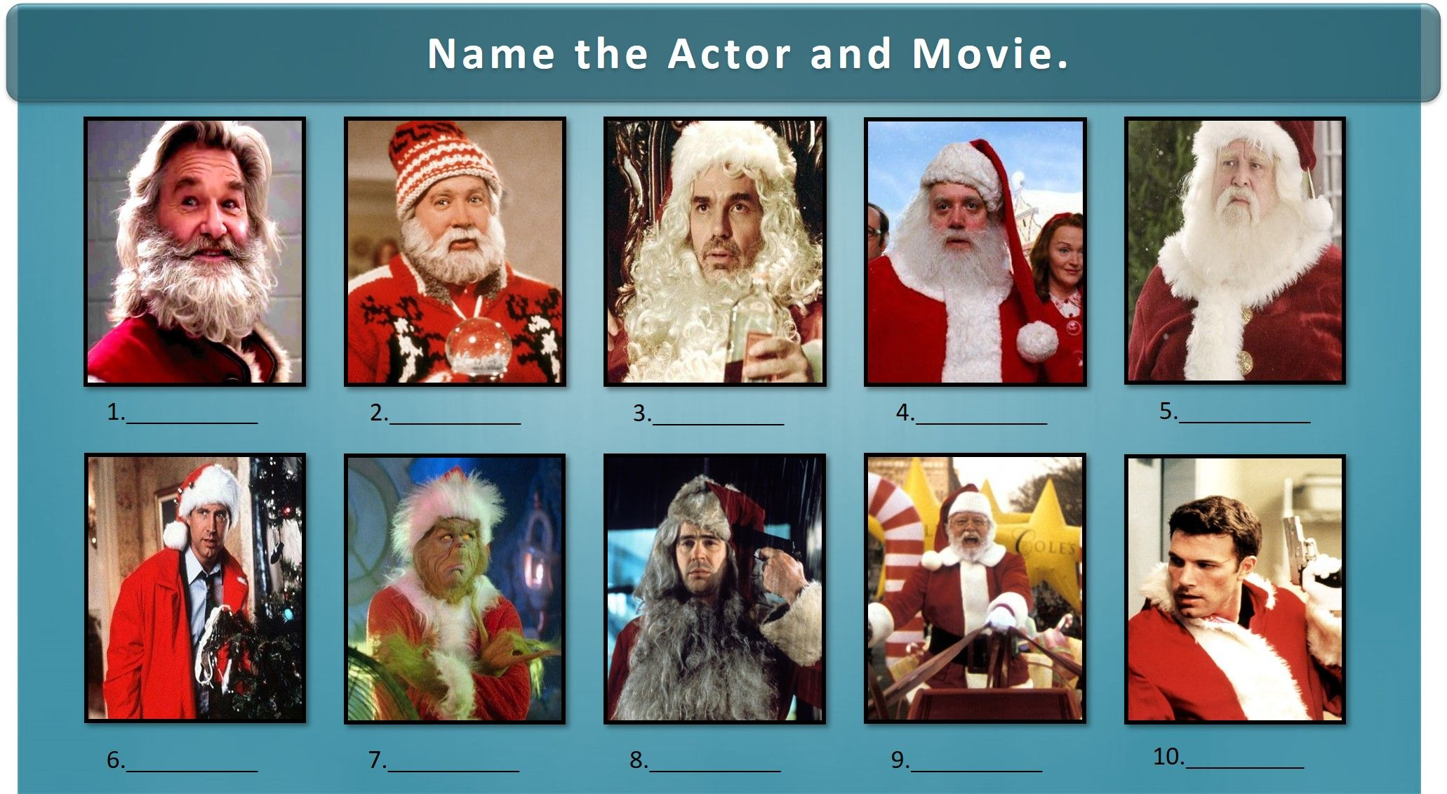 Can You Remember Who These Santa S Were