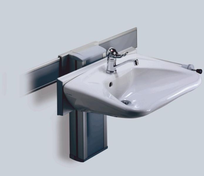 Marvelous Accessible Bathroom Sink Height #DisabilityLiving U003eu003e See More Ideas At  Http://. Ada BathroomHandicap BathroomDisabled BathroomPedestal ...
