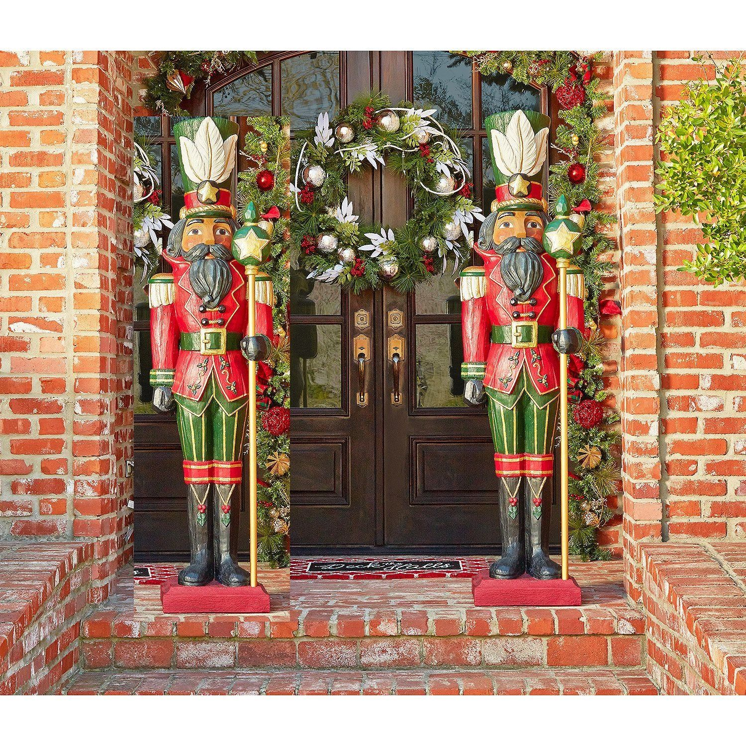 Large Outdoor Nutcracker Decoration Life Size Nutcracker Decorations Nutcracker Christmas Nutcracker Christmas Decorations