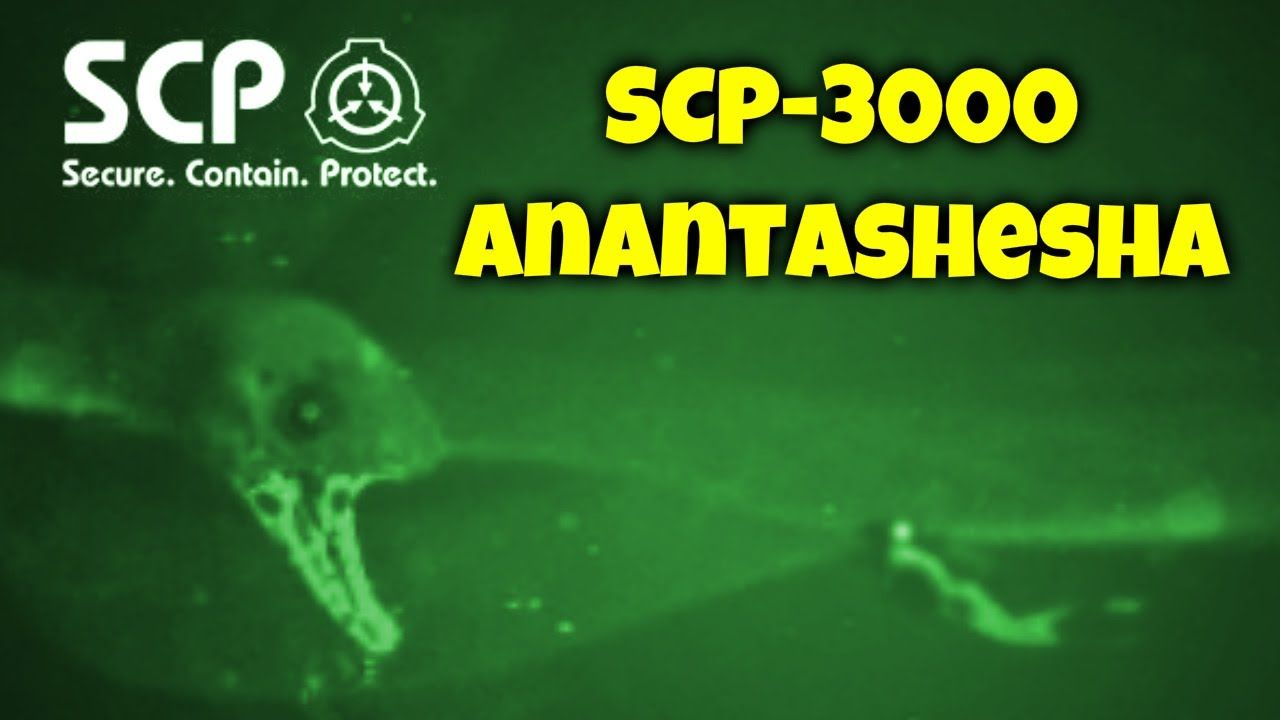 Scp 3000 Anantashesha Object Class Thaumiel Aquatic Cognitohazard Scp Aquatic This box is probably thaumiel. scp 3000 anantashesha object class