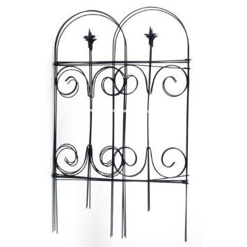 Amazon Com Panacea Products Folding Fence With Finial