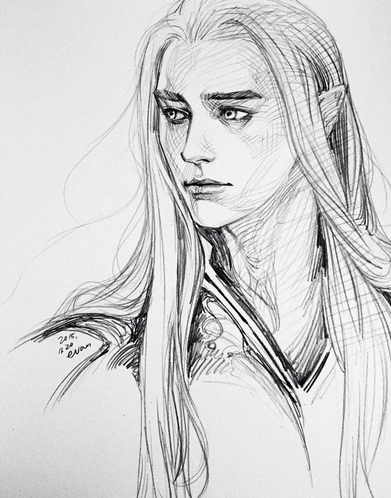 Рисунки и картинки эльфов