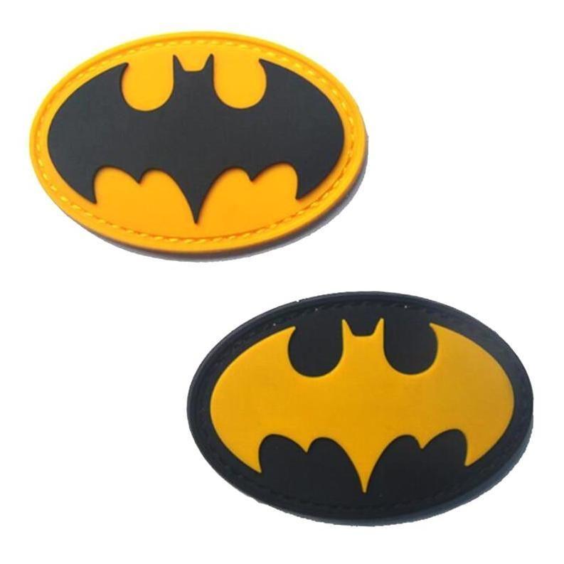 Super Hero Batman Morale 3D PVC Patch Badges