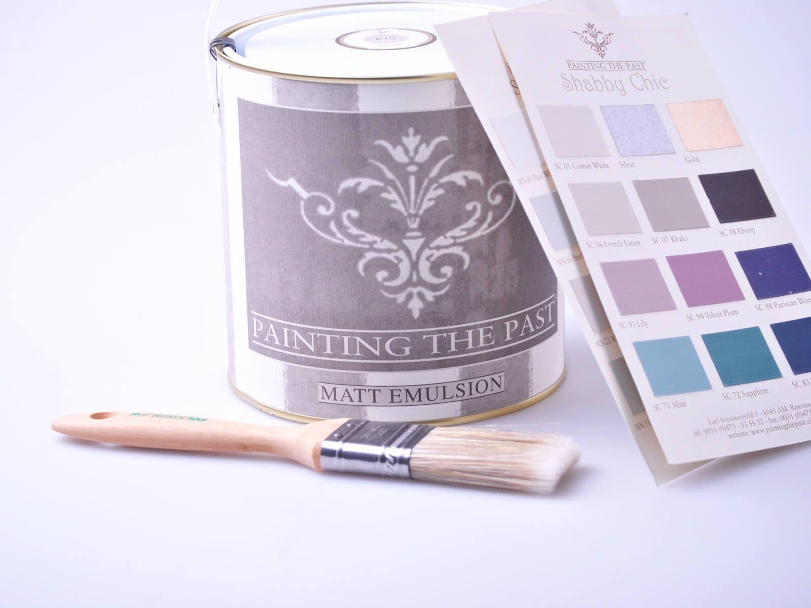 Painting the Past Verdigris Kreidefarbe #fliesenstreichen
