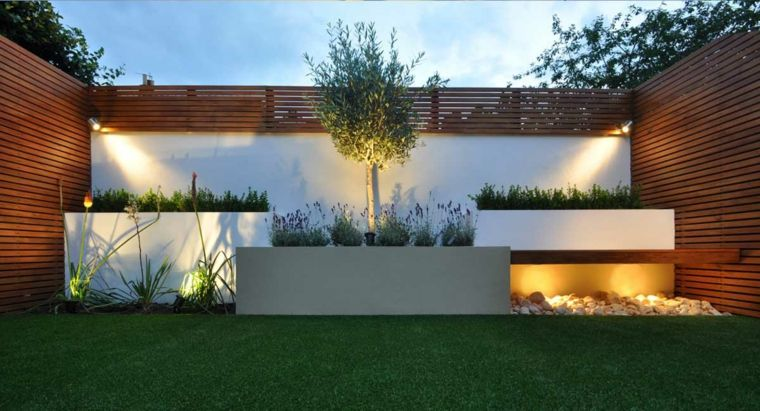 Dise o de terraza con c sped artificial decoracion de - Cesped artificial terrazas ...
