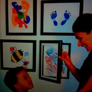10 Clever Ways To Display Your Kids Artwork Frame Kids Art Art Display Kids Kids Artwork