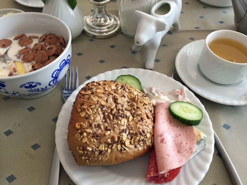 Frühstück im New Hampshire