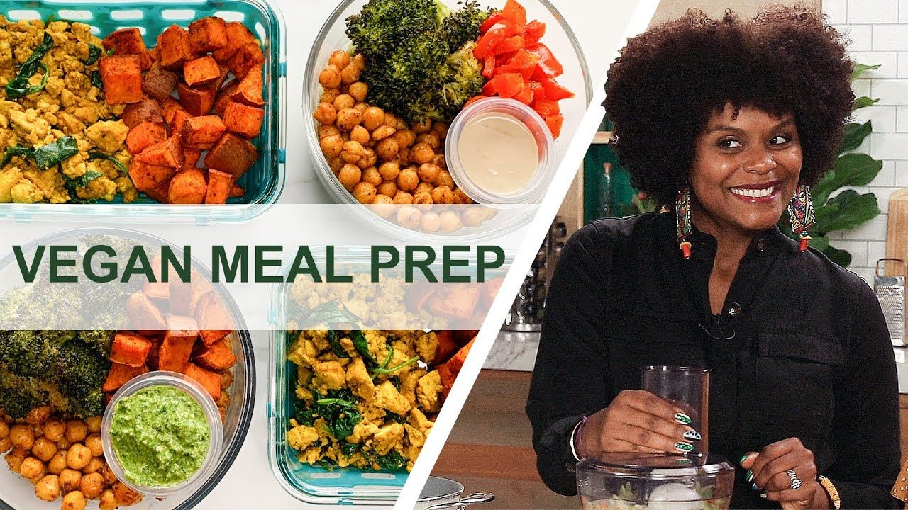 How To Meal Prep 12 Easy Vegan Recipes In 90 Minutes For A Beginner Youtube In 2020 Vegan Recipes Beginner Vegan Meal Plans Vegan Recipes Easy