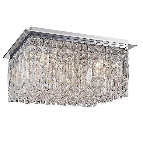 Home collection elizabeth flush ceiling light debenhams