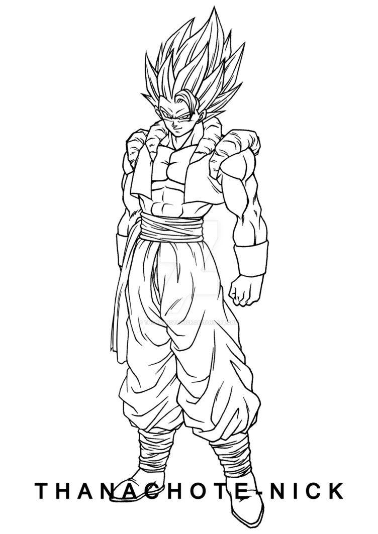 Gogeta Ssgss Dbs By Thanachote Nick Com Imagens Goku Desenho