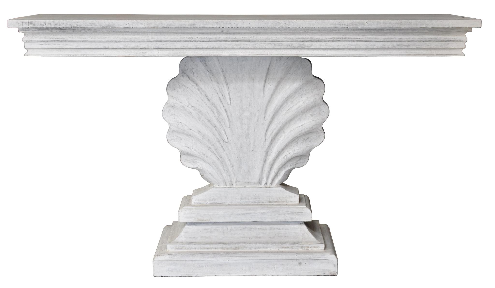 Shell Console Console Table Modern Console Tables