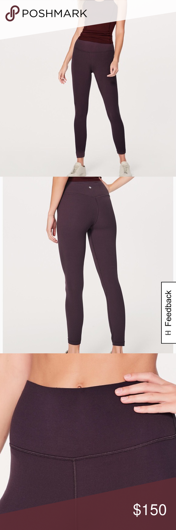 NWT Lululemon Align in Black Currant NWT Lululemon align pant in black currant. Sold out on Lululemon in this size. Such soft material! lululemon athletica Pants Leggings