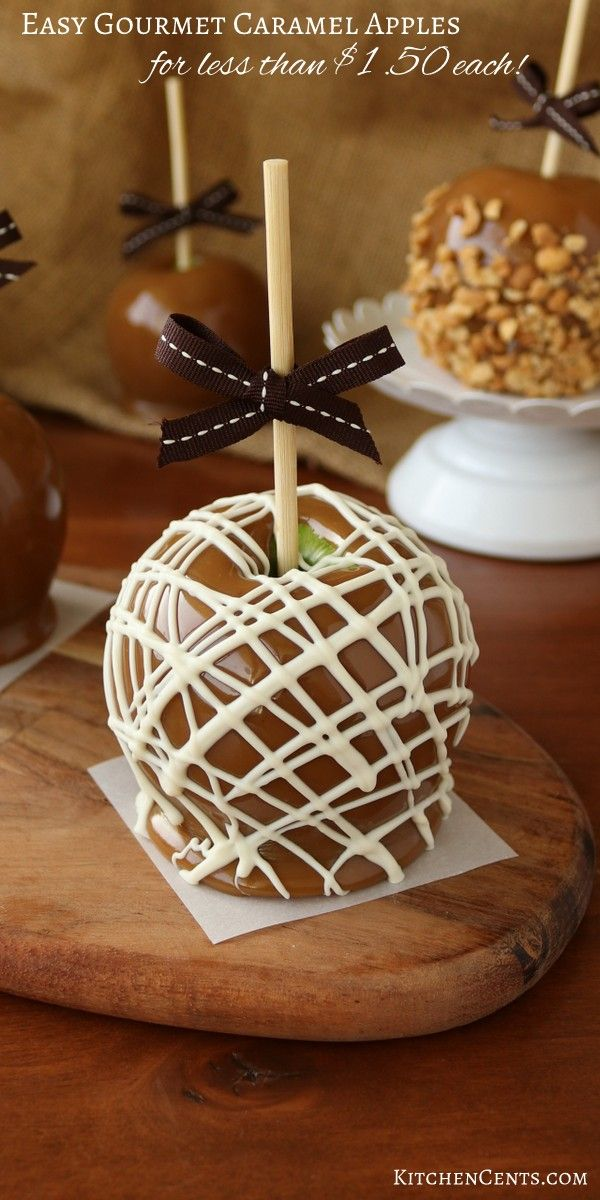 Inexpensive Homemade Caramel Apples