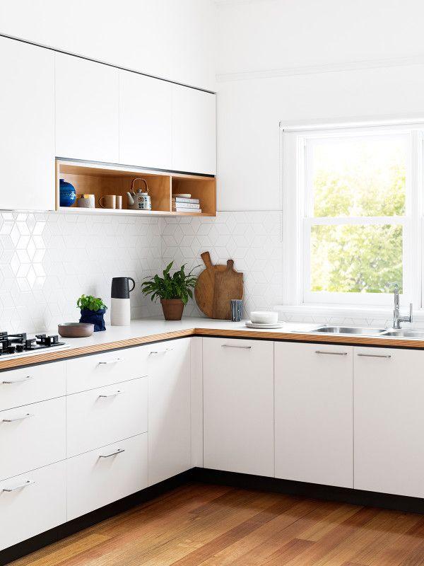 Cantilever Interiors | Cocinas, Cocina blanca y Madera