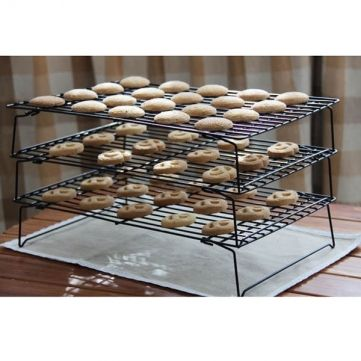 Wholesale 3 Layers Non Stick Cake Stand Dessert Cookie Detachable Shelf