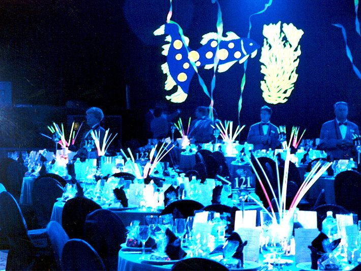 Glow Stick Filled Corporate Event Corporate Christmas Parties