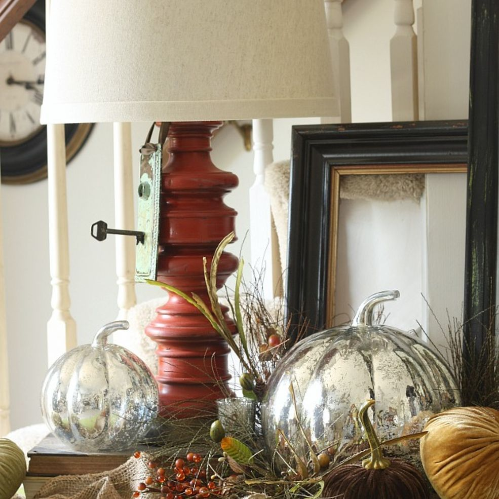 Create A Layered Fall Table Display