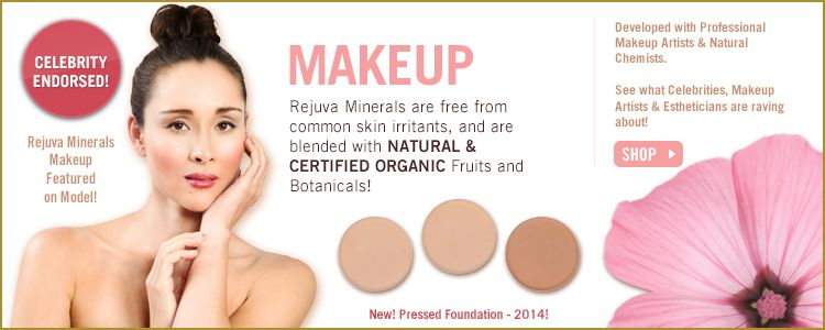 Rejuva Minerals --mineral makeup with no mica, titanium dioxide or iron oxide
