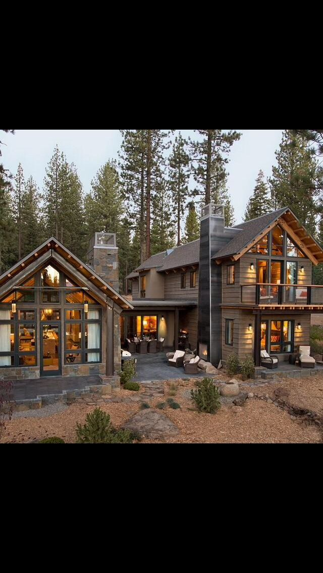 Pin By Bayu Angin On Spaces Log Cabin Homes House Designs Exterior Log Home Floor Plans