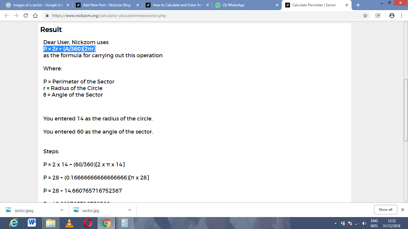 How To Calculate And Solve For The Perimeter Or