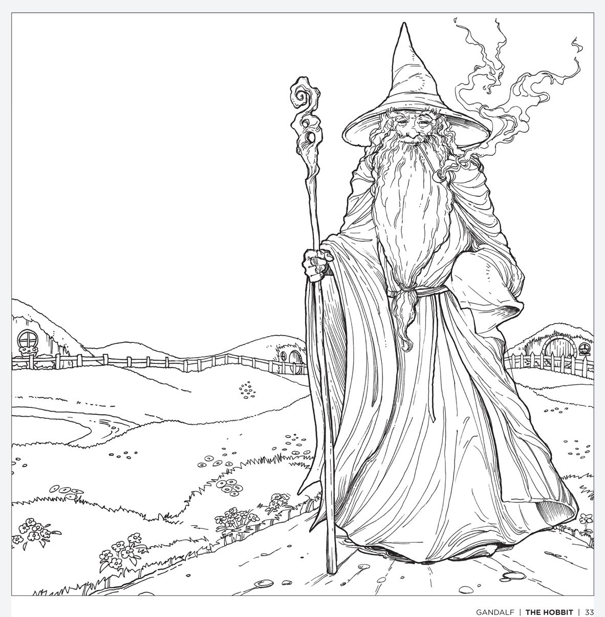 Tolkiens World A Colouring Book Free Pattern Download